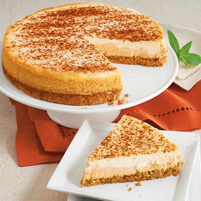 Holiday Pumpkin Cheesecake