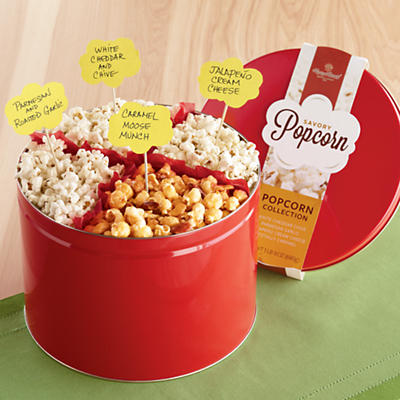 Sweet and Savory Popcorn Collection