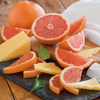 Grapefruit and TouVelle® Cheese