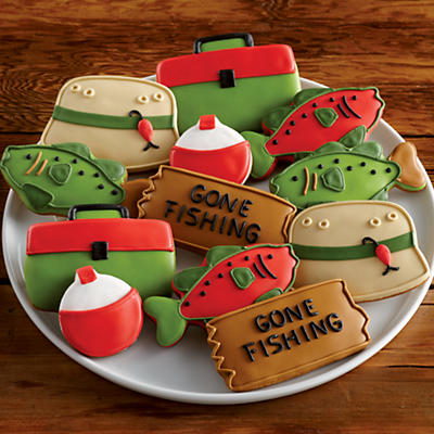 Fisherman's Decorated Cookies