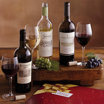 Holiday Napa Valley Wine Trio