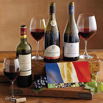 French Wine Trio