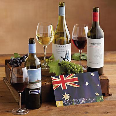 Aussie Walkabout Wine Trio
