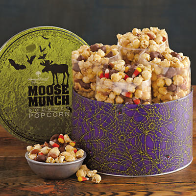 Halloween Moose Munch® Gourmet Popcorn Tin