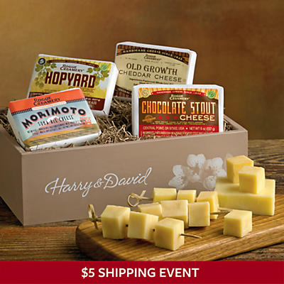 Beer-Flavored Cheese Box