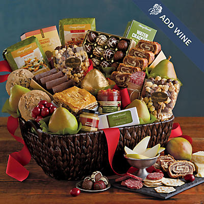 Hearthside Gift Basket