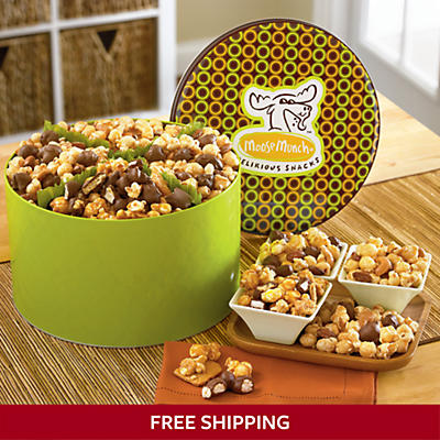 Moose Munch® Popcorn Gift Tin Classic