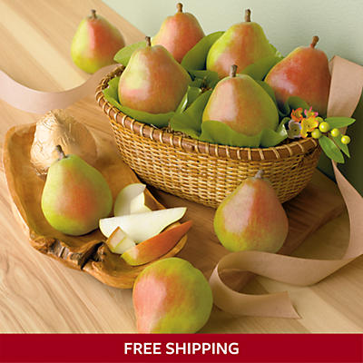Gold Spring Pear Gift Basket