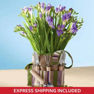 <span style=color:#bb0011>NEW</span> Freesia Garden Gift Tote