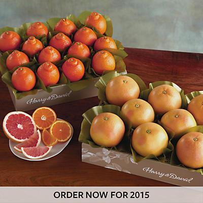 2 Boxes of Cushman's HoneyBells/Red Grapefruit