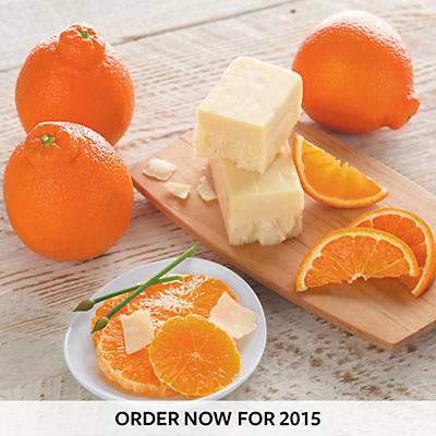 Cushman's® HoneyBells and Aged White Cheddar Cheese