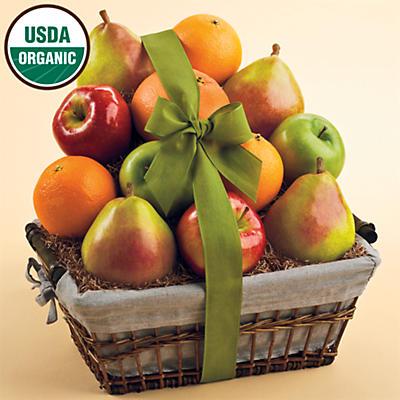 Organic Fruit Gift Basket Classic