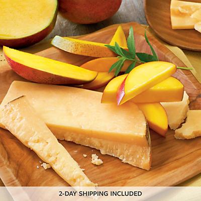 Mangoes and San Joaquin Gold Cheese
