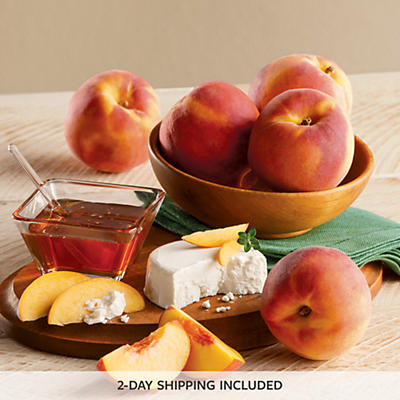 Oregold® Peaches and Goat Cheese