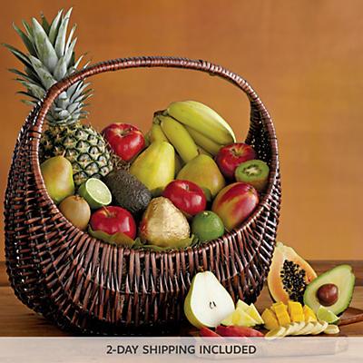 Deluxe Fresh Fruit Basket