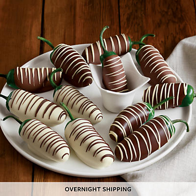 Double Hand-Dipped Chocolate-Covered Jalapeños