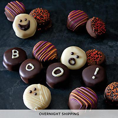 Halloween Hand-Dipped Chocolate Bananas