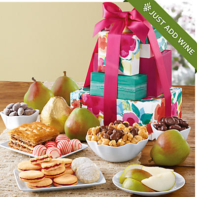 Mother's Day Tower of Treats® Gift Deluxe