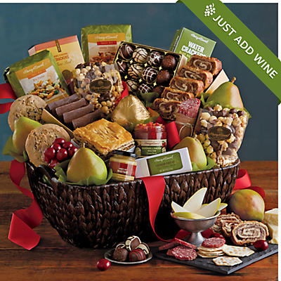 Hearthside Gift Basket