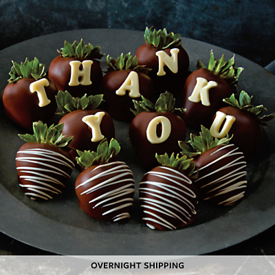 Organic Chocolate Covered Strawberries Delivery