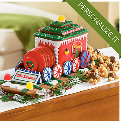 <span style=color:#bb0011>NEW</span> My Gingerbread Train