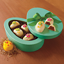 Easter Chick and Egg Chocolate Truffles