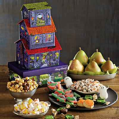 Deluxe Crooked House Gift Tower